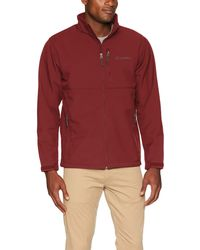 Columbia Ascender Softshell Jacket Giacca a Vento - Rosso