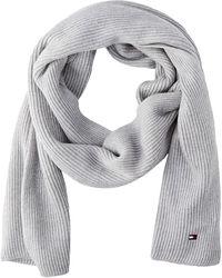 Tommy Hilfiger Essential Knit Scarf Juego de accesorios de invierno - Gris