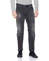 DIESEL Larkee Beex Straight Jeans - Black