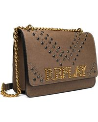 Replay Fw3910.005.a0060 's Clutch - Brown