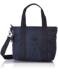 Kipling Asseni Mini Womens Grab Bag - Blue