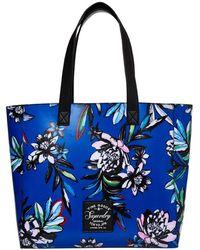 Superdry Elaina Printed Tote Bag - Blue