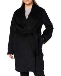 Mexx Elegant Wool Coat with Belt Cappotto - Nero