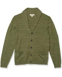 Goodthreads Soft Cotton Cardigan Summer Sweater Pull - Vert