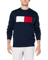 Tommy Hilfiger - Flag Chest Logo Sweatshirt, Sudadera para Hombre - Lyst