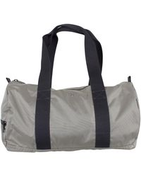 GANT Original Logo Holdall Bag - Grey
