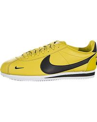 purchase cheap ec73d ba295 Classic Cortez Prem Fitness Shoes - Yellow