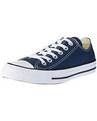 Converse All Star, Baskets Mixte Adulte - Bleu
