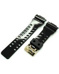 G-Shock 10391028 Gold Buckle Band G-Shock GA110GB-1A GD100GB-1 GAC100BR GDF100GB-1 - Nero