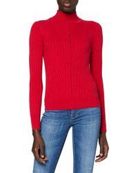 Pepe Jeans Fiona Pullover Sweater - Rot
