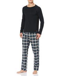 Esprit Jelto Nw C.pj.ls_ll Two Piece Pyjamas - Black