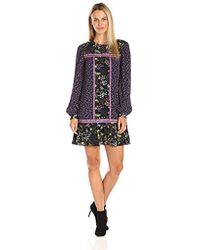 Juicy Couture - Black Label Sw Silk Tulcea Ditsy Floral Dress - Lyst