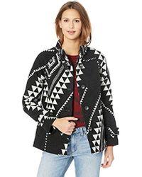 Pendleton Mesa Jacquard Coat - Black