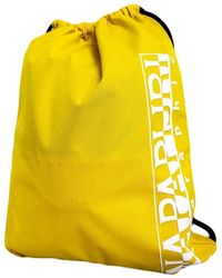 Napapijri Happy Gym Sack Casual Backpack - Yellow