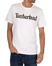 Timberland - Uomo T-Shirt Grafica - Lyst