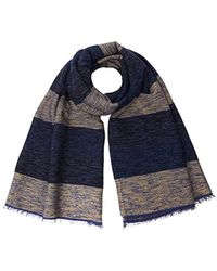 Pepe Jeans - Sawn Scarf Pm110374 Shawl, Blue, One Size - Lyst