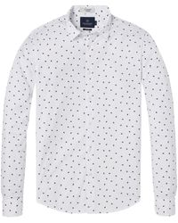 Scotch & Soda - Longsleeve Shirt with all-Over Print Camicia - Lyst