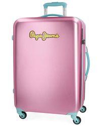 Pepe Jeans Bristol Koffer - Pink