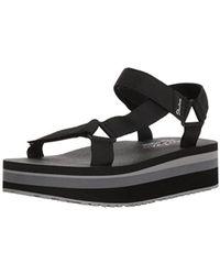 Skechers - Whip It-carnivale-adjustable Slingback Platform Sandal - Lyst