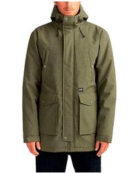 Billabong Parka Jacket - - Xxl - Green