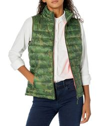 Amazon Essentials Gilet Leggero e Resistente all'Acqua. Down-Outerwear-Vests - Verde