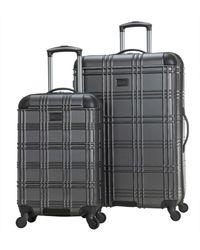 Ben Sherman Nottingham Lightweight Hardside 4-wheel Spinner Travel Luggage - Grey