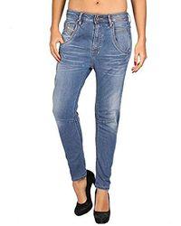 DIESEL Jeans da Dona FAYZA 885I - Relaxed Boyfriend - Blu
