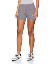 Nike S W Nk 10k 2in1 Shorts - Grau