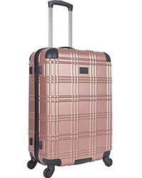 "Ben Sherman - Luggage Nottingham 24"" Embossed Pap 4-wheel Luggage - Lyst"
