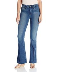 PAIGE - High Rise Bell Canyon - Giona Cut Off Jeans - 26 - Lyst