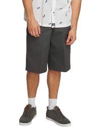 Dickies 15 Inch Loose Fit Multi-pocket Work Short - Gray