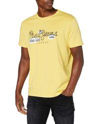 Pepe Jeans - T-Shirt Salomon - Lyst