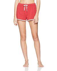 Tommy Hilfiger Bleu Bas de pyjama Iconic en coton Femme