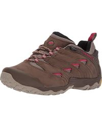Merrell S/ladies Chameleon 7 Lightweight Breathable Hiking Shoes - Brown
