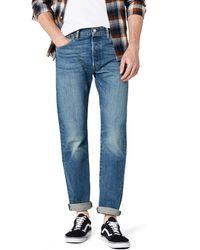 Levi's 501 Original Fit Regular Design Comfortable Denim Jeans - Blue