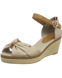 Tommy Hilfiger Iconic Elba Closed Toe Sandals - Multicolour