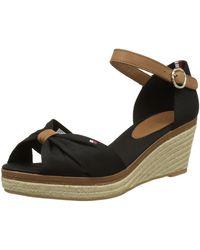 Tommy Hilfiger - E1285lba 40d Wedge Heels Sandals - Lyst