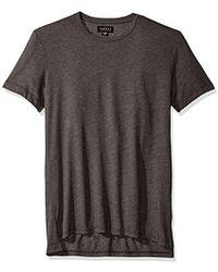 Velvet By Graham & Spencer - Velvet Zealand Heather Jersey Shirt - Lyst