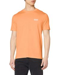 HUGO Durned202 T-shirt - Orange