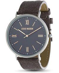 Steve Madden Dress Watch - Grey
