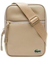 Lacoste L.12.12 Concept M Flat Crossover Bag Incense - Natur
