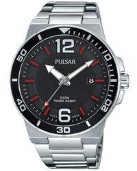 Seiko Orologio Uomo Pulsar PS9397X1 - Metallizzato