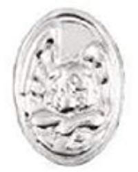 Nomination Royal Classic Link Shield Charm With Angel Stainless Steel 140951/02 - Metallic