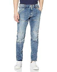 G-Star RAW 5620 Elwood 3D Skinny Jeans Uomo - Blu