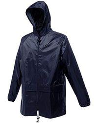 Regatta Stormbreak Waterproof Jacket | Taped Seams | Rain Coat - Blue