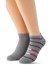 Tommy Hilfiger - Breton Stripe Sneaker-trainer Socks - Lyst