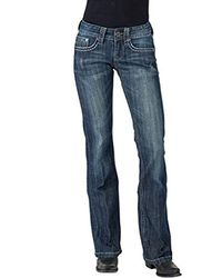 Stetson - Ladies Jean 816 Fit Classic Boot Cut - Lyst