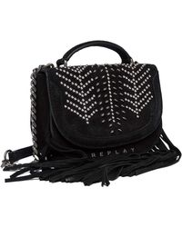 Replay Fw3951.000.a3154 's Top-handle Bag - Black
