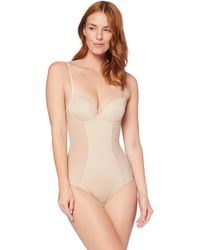 Iris & Lilly C28954-00 Shapewear Top - Natural