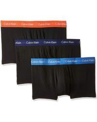 Calvin Klein Low Rise Trunk 3pk Boxer - Multicolore